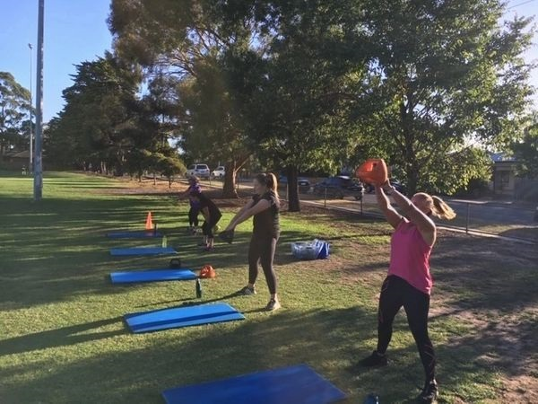 Outdoor Fitness Training Classes
